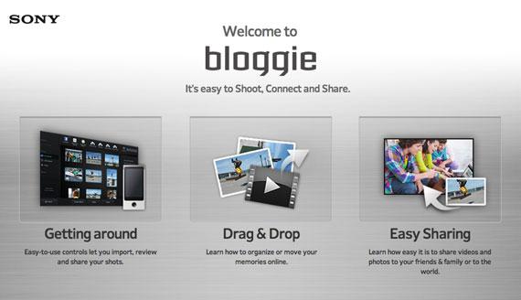 Sony Bloggie software for Mac
