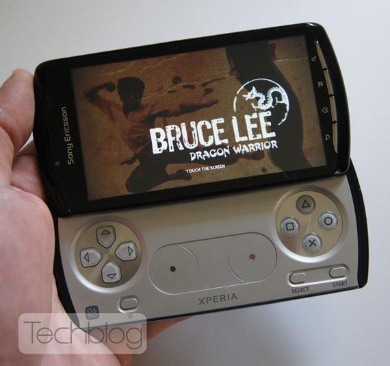 Sony Ericsson XPERIA Play games Techblog