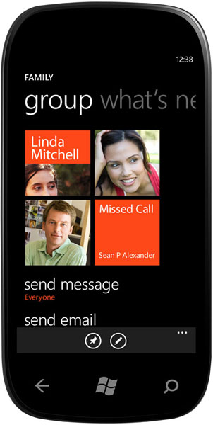 Windows Phone Groups
