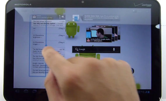 Android 3.1 Honeycomb demo