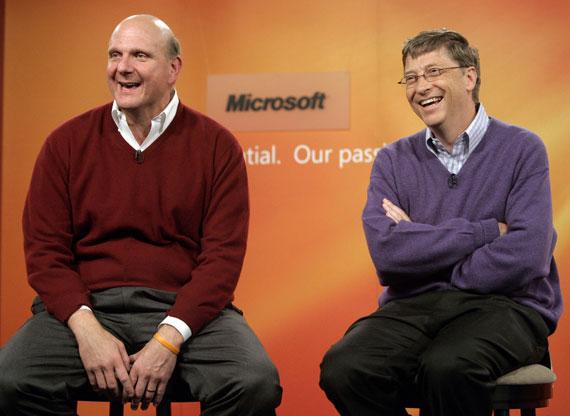 Bill Gates Steve Ballmer