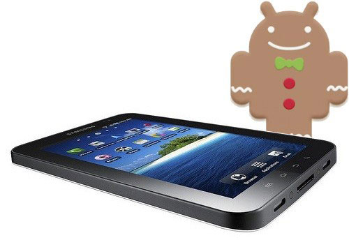 Samsung Galaxy Tab Android 2.3 Gingerbread