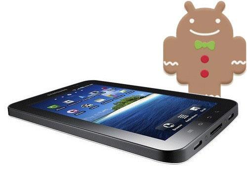 Samsung Galaxy Tab Android 2.3 Gingerbread