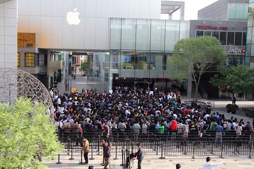 iPad 2 China sold out