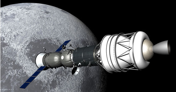 Lunar Soyuz Space News Report