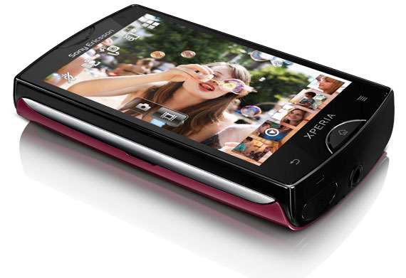 new Sony Ericsson XPERIA mini