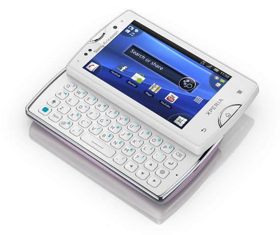 new Sony Ericsson XPERIA mini pro