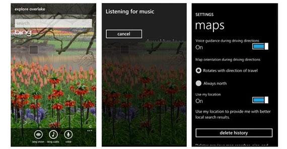 Windows Phone 7 Bing Update