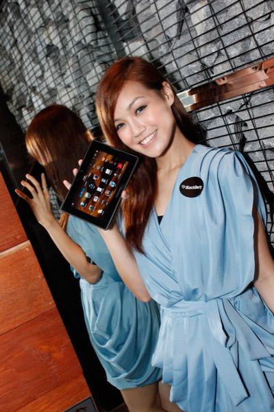 BlackBerry PlayBook babes