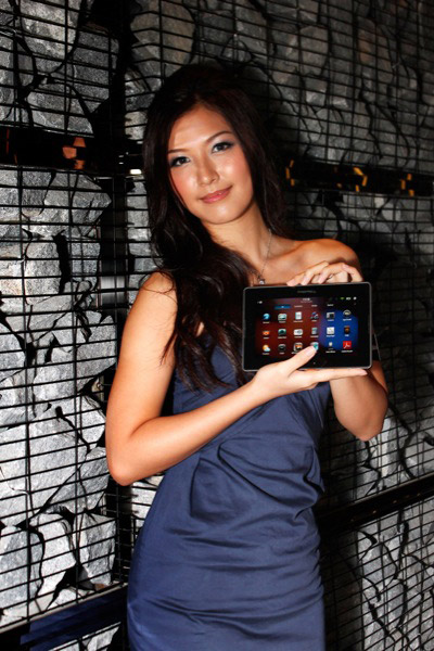 BlackBerry PlayBook babes