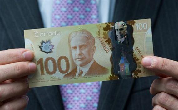 Canada plastic money