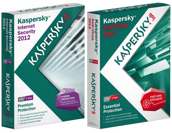 Kaspersky KAS 2012 KIS 2012