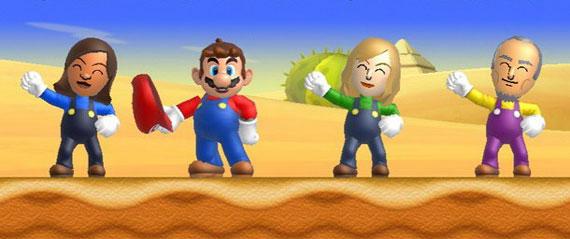 Nintendo Wii U Super Mario Bros