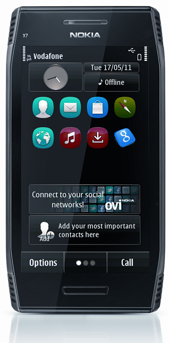 Nokia X7 vodafone