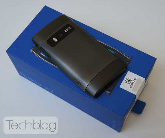 Nokia X7 box unbox Techblog.gr