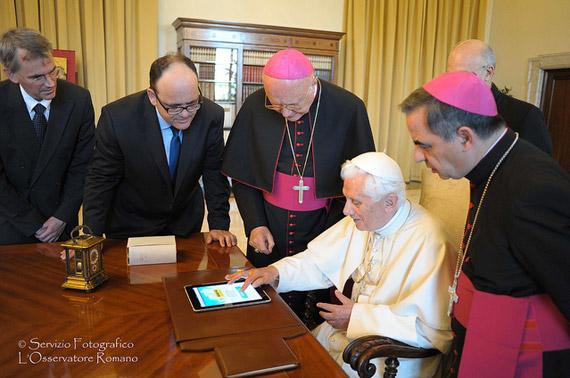 Pope Benedict Twiiter