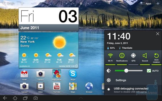 Samsung TouchWiz 4.0