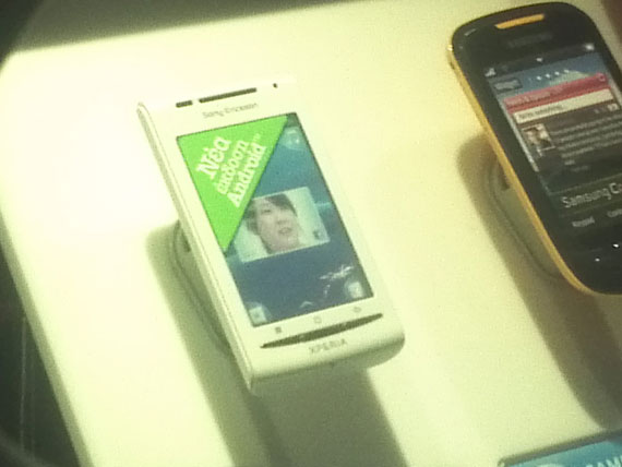 Sony Ericsson X8 WIND fail