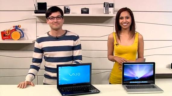 Sony VAIO S MacBook Pro