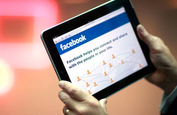 Facebook εφαρμογή για το iPad
