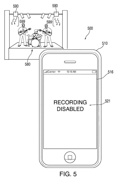 iPhone 5 sensors