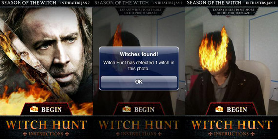 witch hunt android app