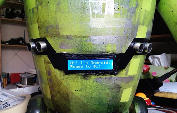 Android robot diy