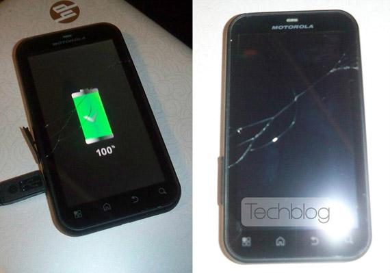 Gorilla Glass Motorola Defy