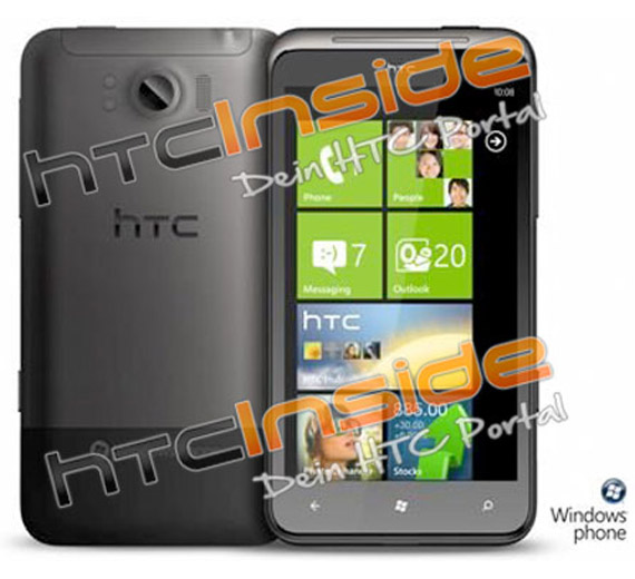 HTC Eternity Windows Phone Mango