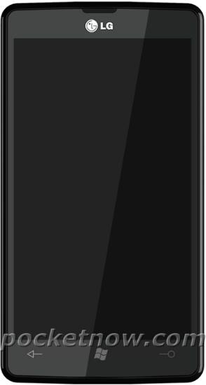 LG Fantasy Windows Phone