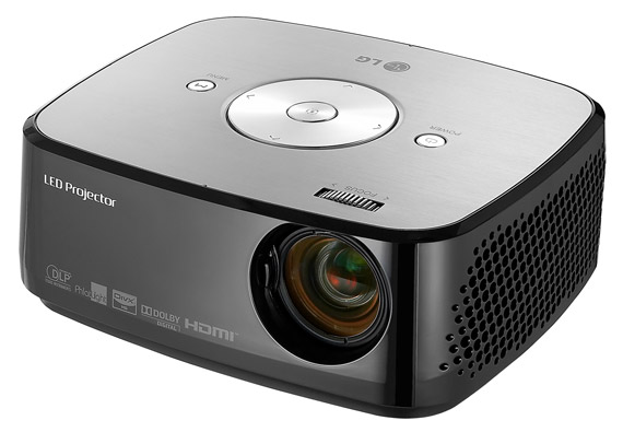 LG HX300G LED Portable projector
