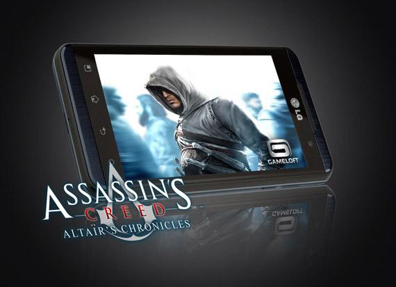 LG OPTIMUS 3D ASSASSINS CREED