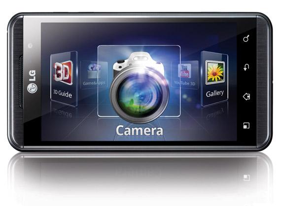 LG Optimus 3D, Μετατροπή games από 2D σε 3D με λίστα