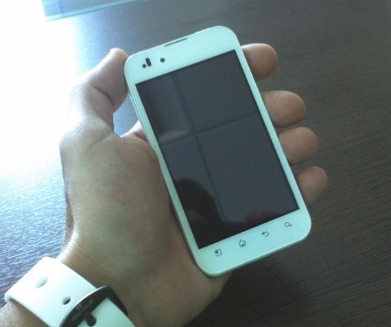 LG Optimus Black λευκό Cosmote