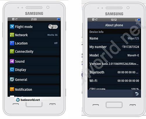 Samsung Wave 725