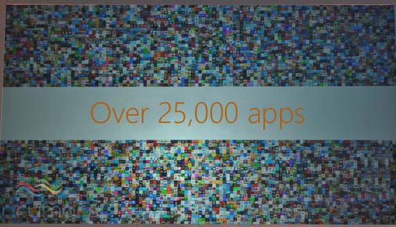 Windows Phone 25k apps