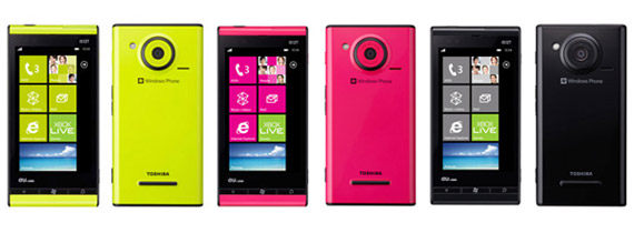 Fujitsu IS12T, Κυκλοφόρησε το πρώτο smartphone με Windows Phone Mango