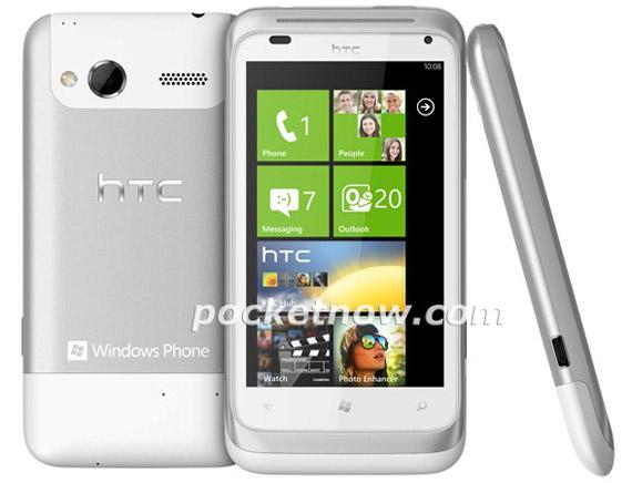 HTC Omega, Με Windows Phone Mango και οθόνη 3.8 ίντσες
