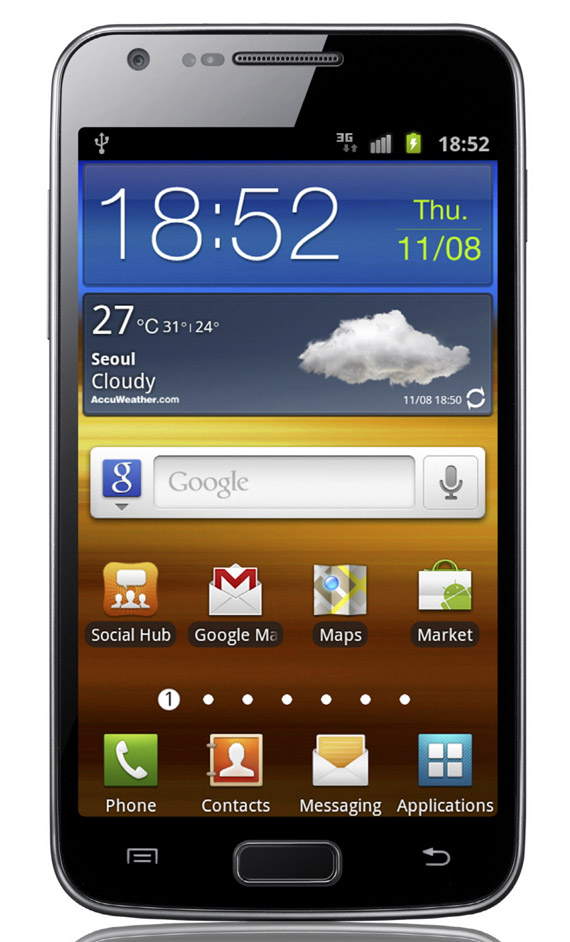 Samsung Galaxy S II LTE, Το νέο διπύρηνο με την 4.5 Super AMOLED Plus