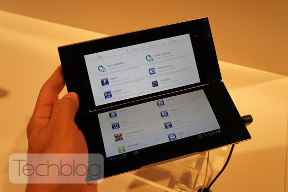 Sony Tablet P ελληνικό βίντεο παρουσίαση