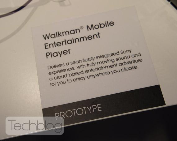 Sony Walkman, Με Android και οθόνη 5 ιντσών [prototype]