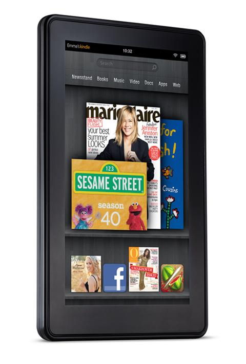 Amazon Kindle Fire, Φωτογραφίες και πλήρη τεχνικά χαρακτηριστικά