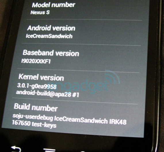 Android Ice Cream Sandwich, Δύο λεπτά βίντεο από αυτό που έρχεται σε δύο μήνες