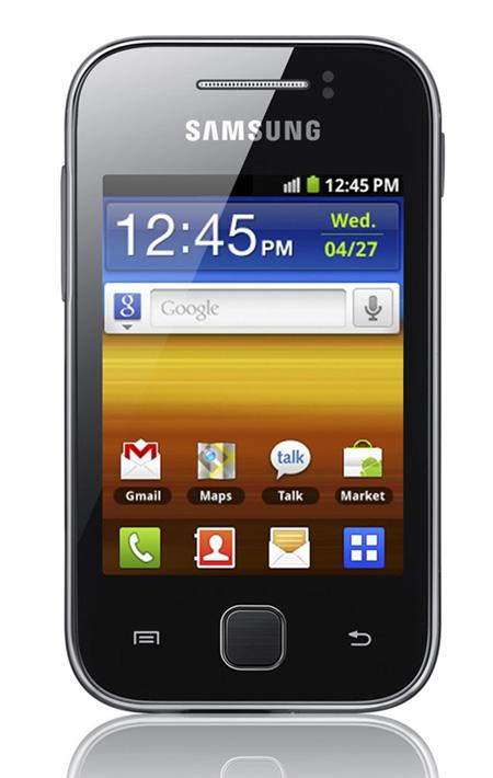 Samsung Galaxy Y, Το πιο οικονομικό από τα νέα της σειράς Galaxy
