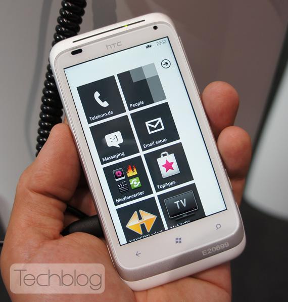HTC Omega Windows Phone Mango, Ένα γρήγορο hands-on
