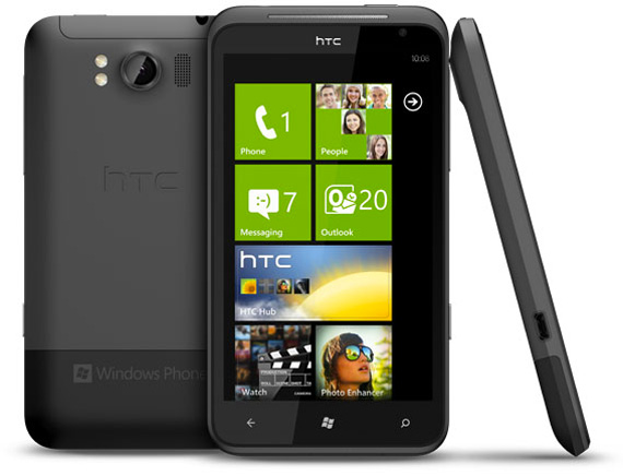 HTC Titan Windows Phone Mango, Με οθόνη 4,7 ίντσες και πολύ λεπτό