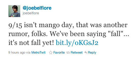 Windows Phone Mango αναβάθμιση, Μετά τις 23 Σεπτεμβρίου