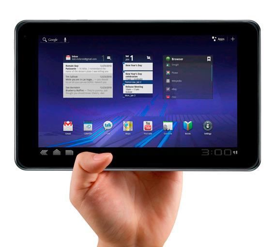 LG Optimus Pad 3D, Κυκλοφόρησε με τιμή 649 ευρώ