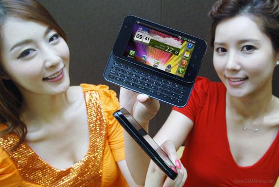 LG Optimus Q2, Διπύρηνο Android με πλήρες συρόμενο πληκτρολόγιο