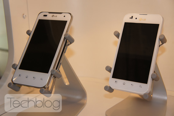 LG Optimus 2X λευκό, Φωτογραφίες hands-on